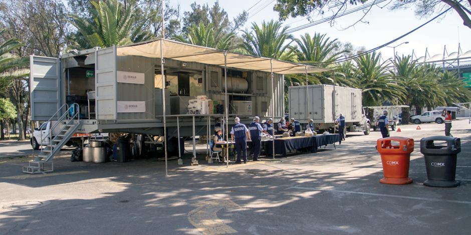 Primeros 2 contingentes de migrantes llegan a la CDMX