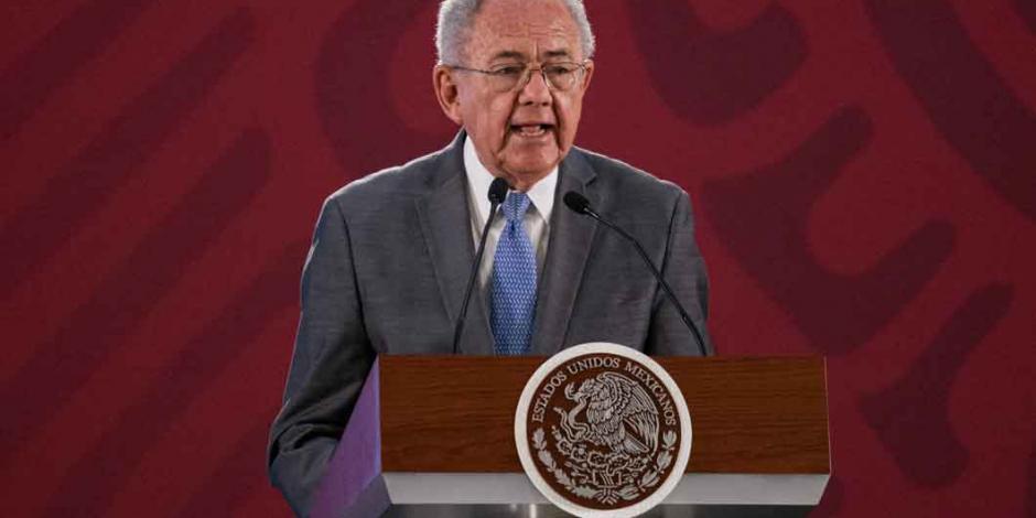 Amparos no afectan aeropuerto de Santa Lucía: Jiménez Espriú