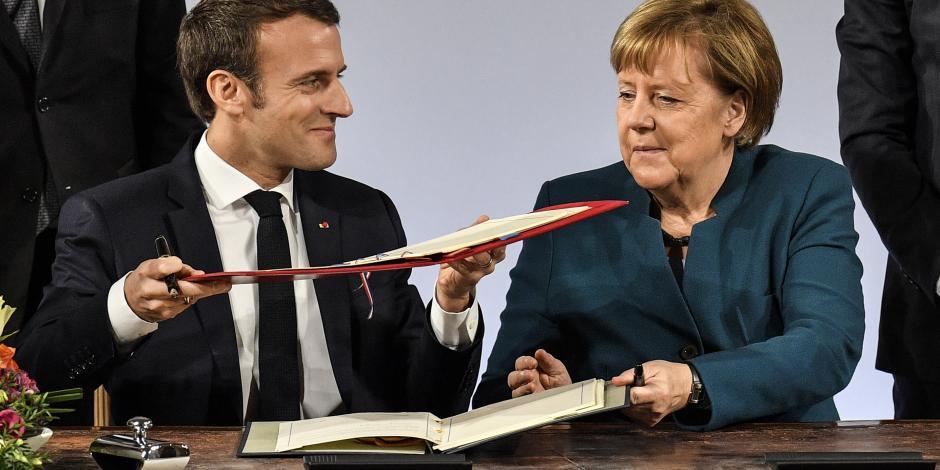 Berlín y París van por salvavidas de UE