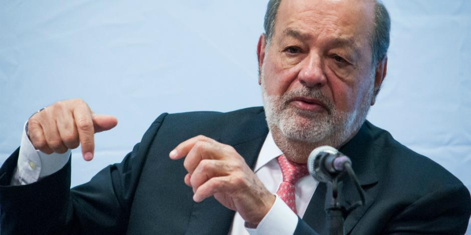 Slim pide más desarrollo e inversión