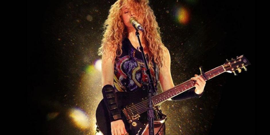 Cines proyectarán tour de Shakira por una noche