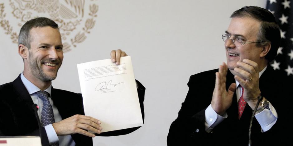Pacta EU invertir en ducto de gas; inicia en Oaxaca