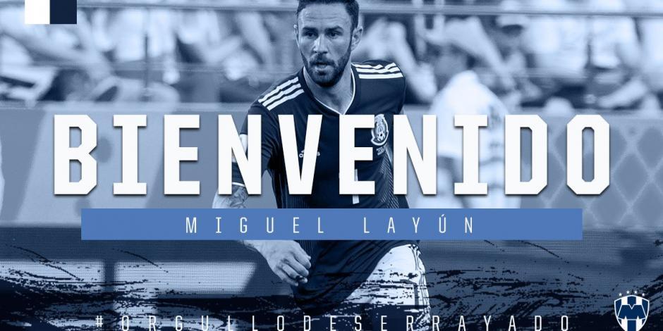 Villarreal oficializa traspaso de Miguel Layún a Monterrey