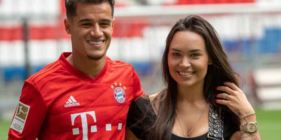 FOTOS: Así fue la presentación de Philippe Coutinho con el Bayer Münich