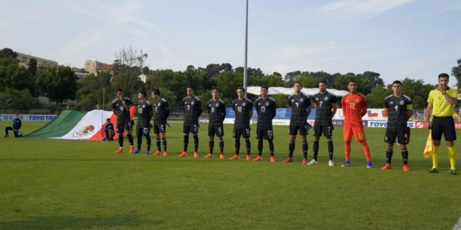 México derrota 2-0 a Baréin en su debut en Esperanzas de Toulon