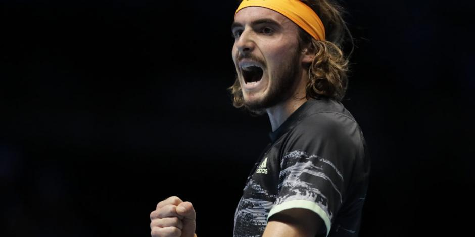 Tsitsipas elimina a Federer y disputará el título de la ATP