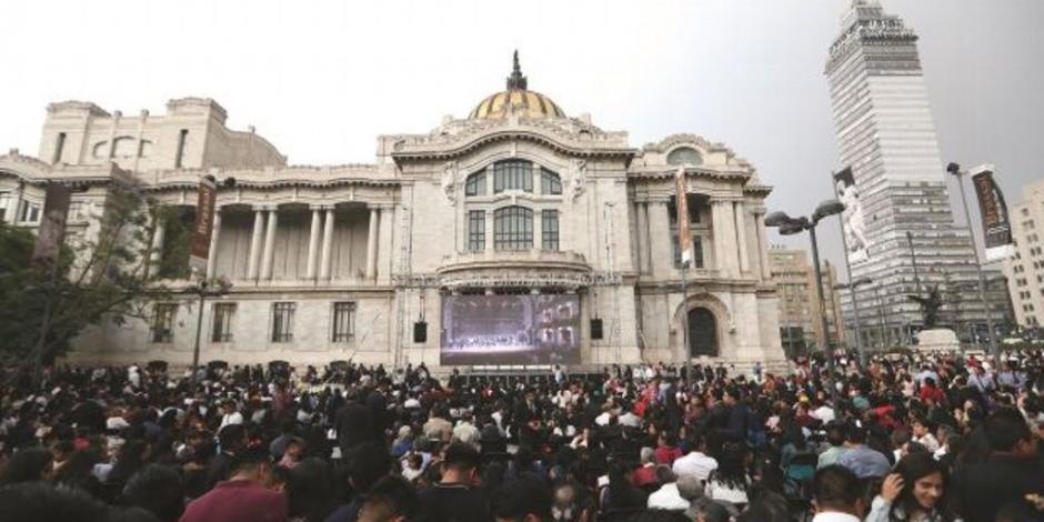 INBAL ratifica uso cultural y artístico del Palacio de Bellas Artes