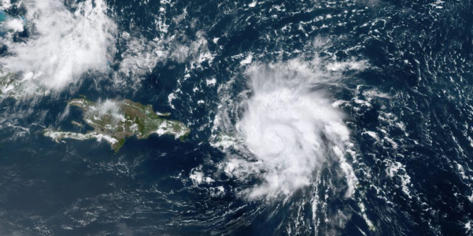 Impacta Dorian a las Islas Vírgenes ya como huracán categoría 1