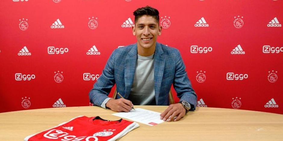 FOTOS: Así fue la presentación de Edson Álvarez con el Ajax