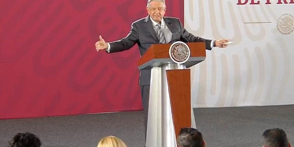 Estoy optimista, llegaremos a un acuerdo con EU, asegura López Obrador