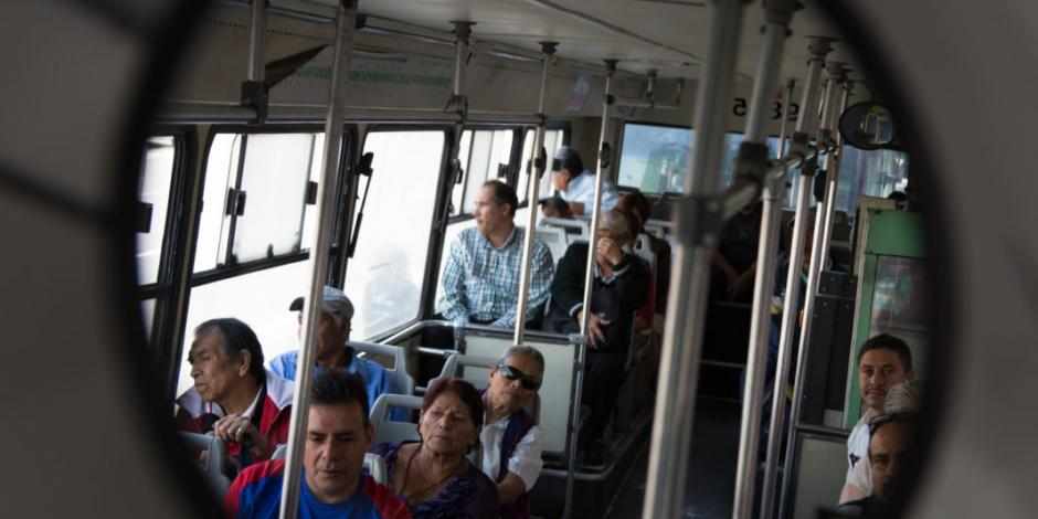 Transporte público en Iztapalapa, primero en tener videocámaras