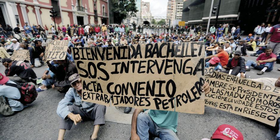 Maduro libera presos y remoza cárceles por visita de Bachelet