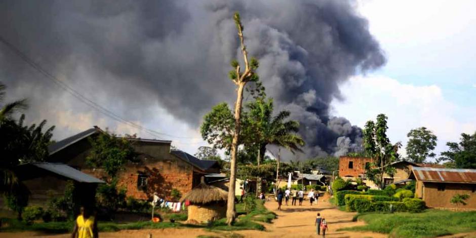 Avionazo en el Congo deja 26 muertos (FOTOS)