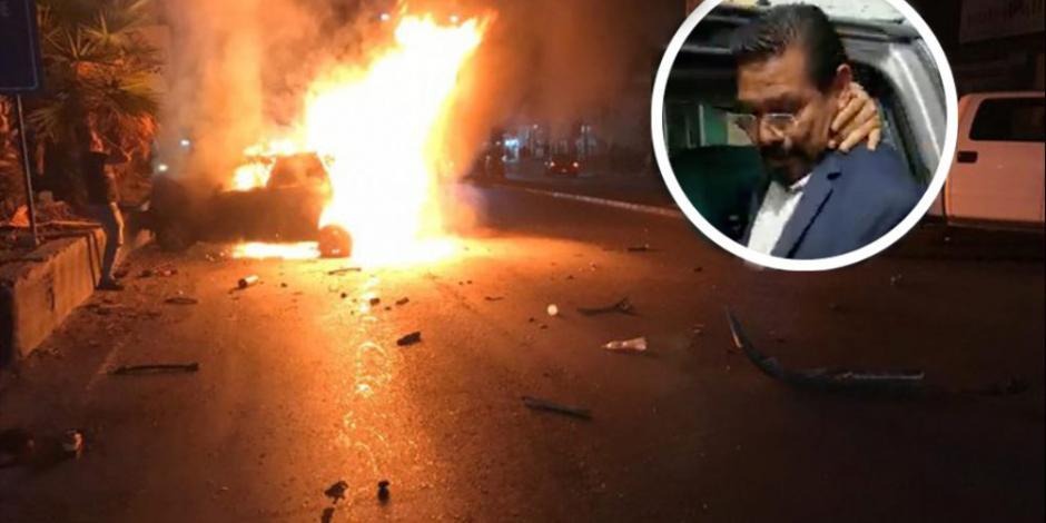 VIDEO: Arrestan al exdiputado Cipriano Charrez por tentativa de homicidio