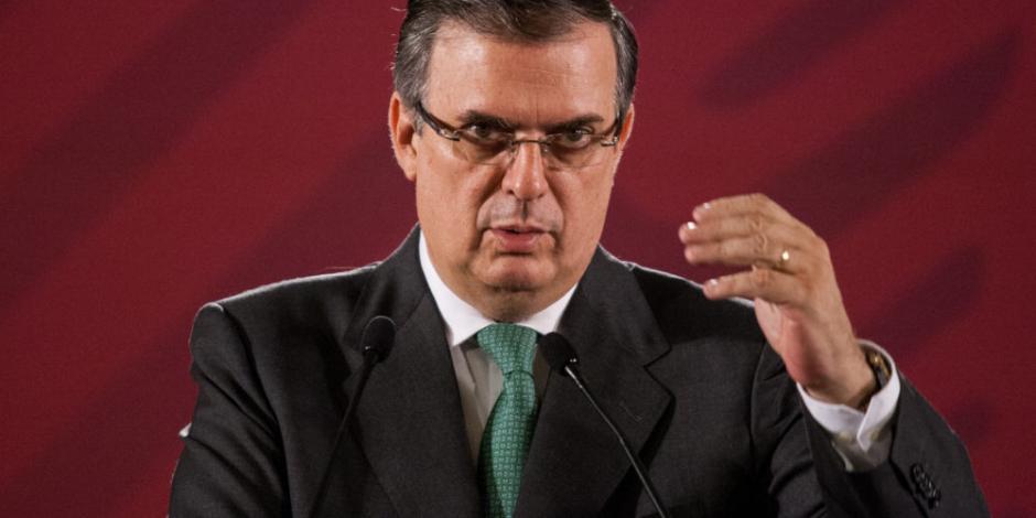 Gobierno de EU destacó que van bien las cosas en tema migratorio: Ebrard