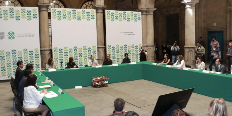 Gobierno capitalino instala Consejo para atender asuntos públicos