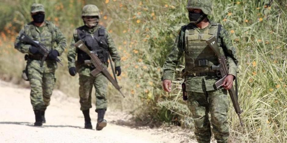 Responde Cancillería a Trump: comunes, incidentes entre militares de México y EU en la frontera