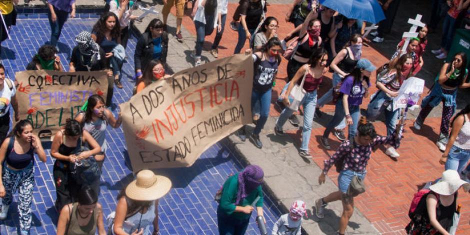 Convocan alumnas de Ciencias Políticas a paro y marcha por violencia