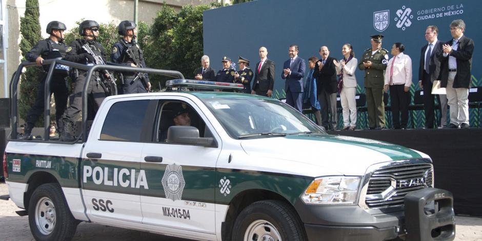 Refuerzan profesionalización y disciplina de cuerpos policiales