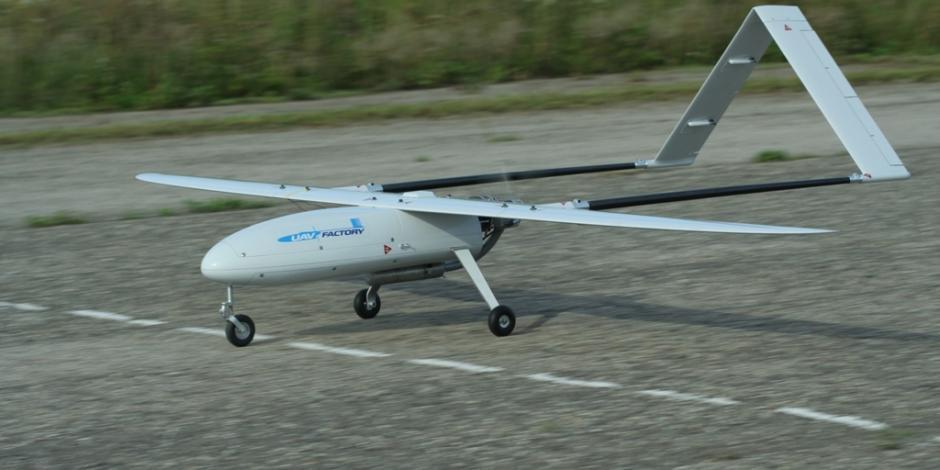 Usan en Tabasco dron de 12 mdp para vigilar la frontera sur