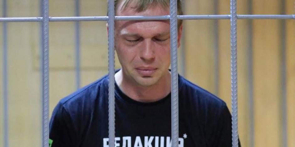 Ivan Golunov, el periodista incómodo a Putin que unió a los medios