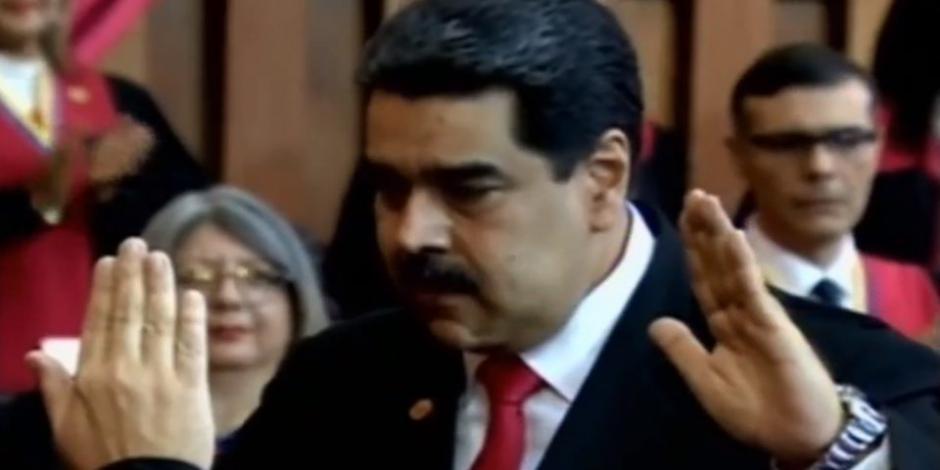 Jura Nicolás Maduro para nuevo periodo como presidente de Venezuela