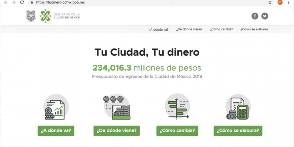 Con portal buscan que ciudadanos vigilen los gastos del Gobierno