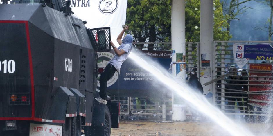 Ola latina de descontento se extiende por Colombia