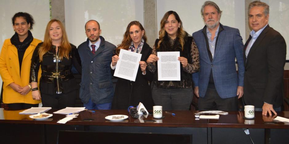 Fundación De Mano a Mano firma convenio con Fideicomiso Fuerza México