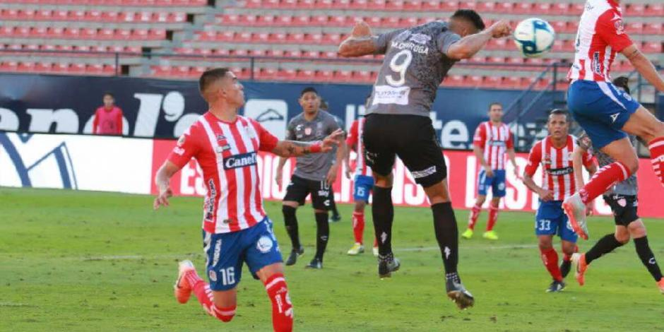 Necaxa elimina a Atlético de San Luis al vencerlo 2-0 (VIDEO)