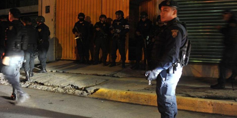 Detienen a cuatro personas por narcomenudeo en Álvaro Obregón