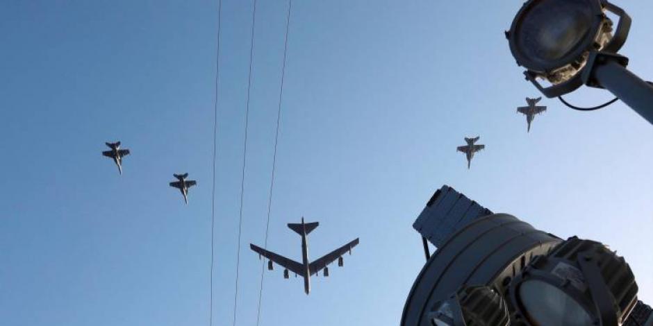 Irán presenta sistema aéreo para defenderse de posibles ataques de EU