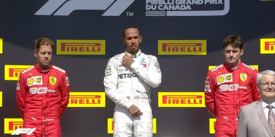 Hamilton gana Gran Premio de Canadá tras sanción a Vettel
