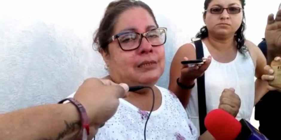 Esposa de reportero secuestrado en Veracruz implora que lo liberen