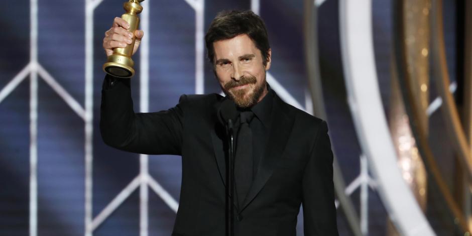 Christian Bale agradeció a Satán por su Globo de Oro; Iglesia Satánica le corresponde