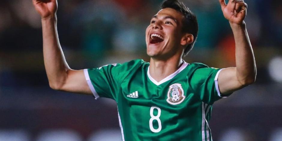 Hirving Lozano, el mejor jugador de la Concacaf en 2018