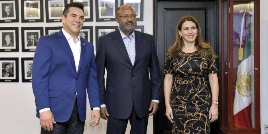 PRI está firme, destaca Alito Moreno