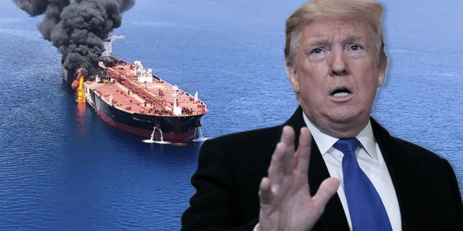 Trump llama a países importadores de petróleo a proteger sus buques