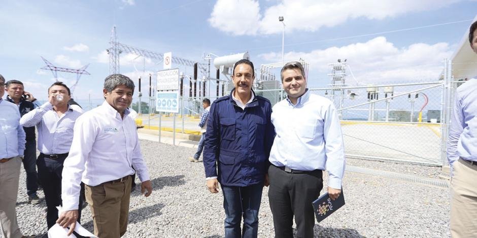 Hidalgo inaugura centro de energía renovable