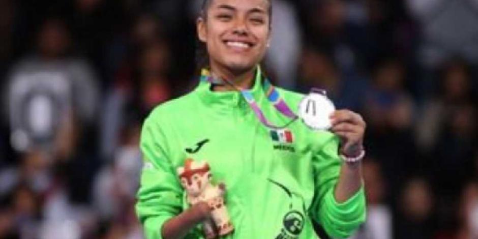 Claudia Romero consigue histórica medalla en TKD