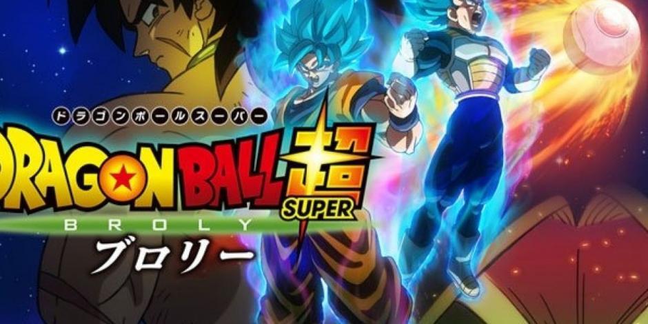 """Película """"Dragon Ball Super: Broly"""" lidera la taquilla en México"""