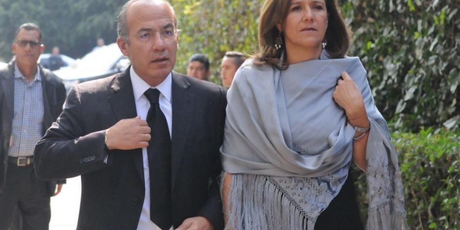 Acusación a su hijo, para esconder fracaso, señalan FCH y Zavala