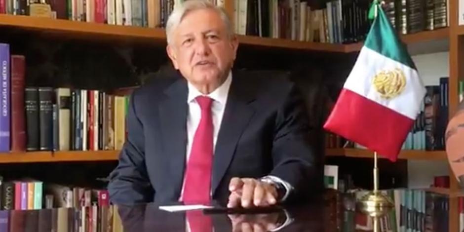 VIDEO: López Obrador celebra ratificación del T-MEC