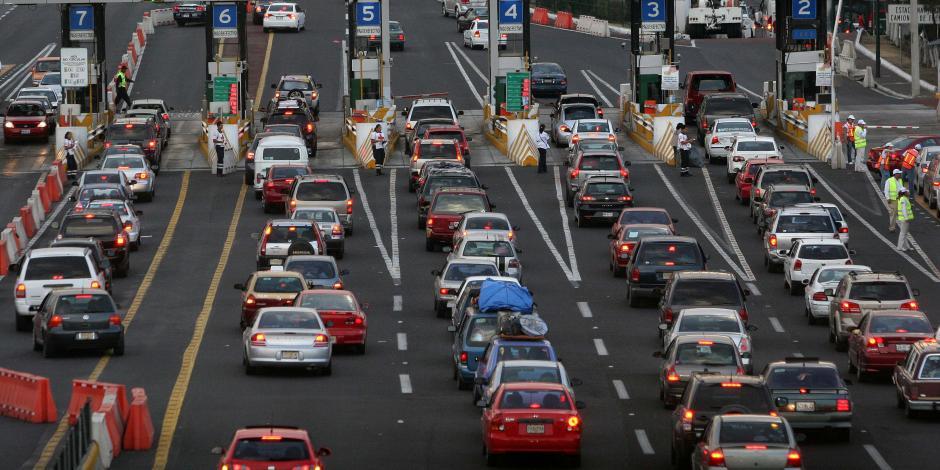 Continúa salida de vacacionistas; autopista México-Querétaro, la de mayor aforo