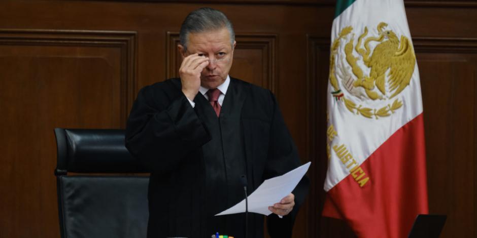 Los jueces estamos para defender al más débil:Arturo Zaldívar