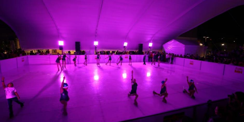 Inauguran en Miguel Hidalgo pista ecológica de patinaje