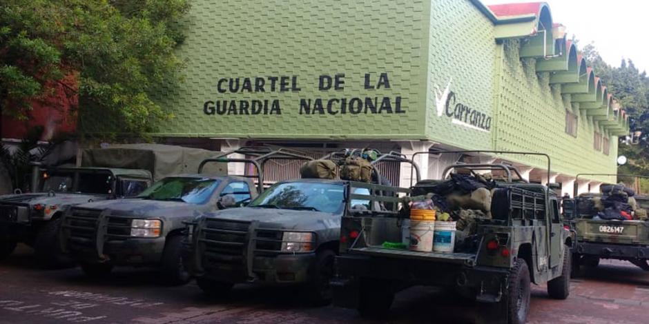 FOTOS: Estrena Guardia Nacional cuartel en alcaldía Venustiano Carranza