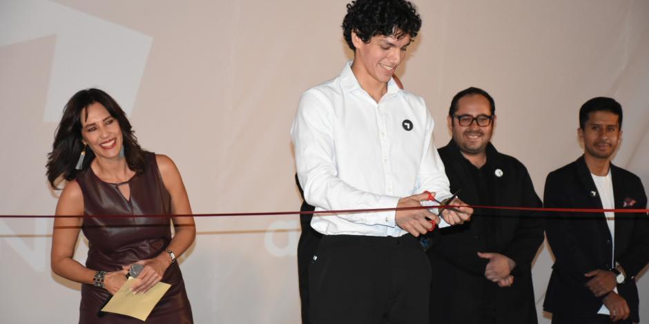 Isaac Hernández agradece al Auditorio apoyo a artistas