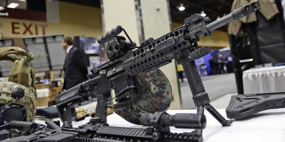 Estados Unidos debe controlar venta indiscriminada de armas, insiste AMLO