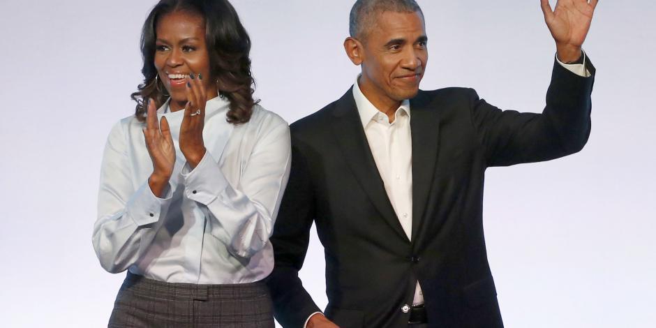 Barack y Michelle Obama producirán podcasts en Spotify
